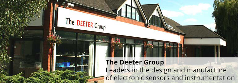 The Deeter Group - Leaders in the design abd manufacture of electronic sensors and instrumentation