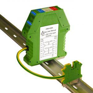 3 channel zener diode safety barrier